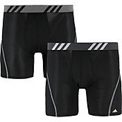 adidas Men's Sport Performance Mesh Boxer Briefs – 2 Pack