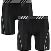 adidas Men's Sport Performance Mesh Midway Boxer Briefs – 2 Pack