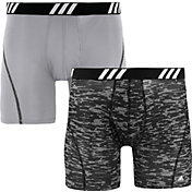adidas Men's Sport Performance Mesh Graphic Boxer Briefs – 2 Pack