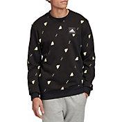adidas Men's Graphic Pullover Crewneck Sweatshirt