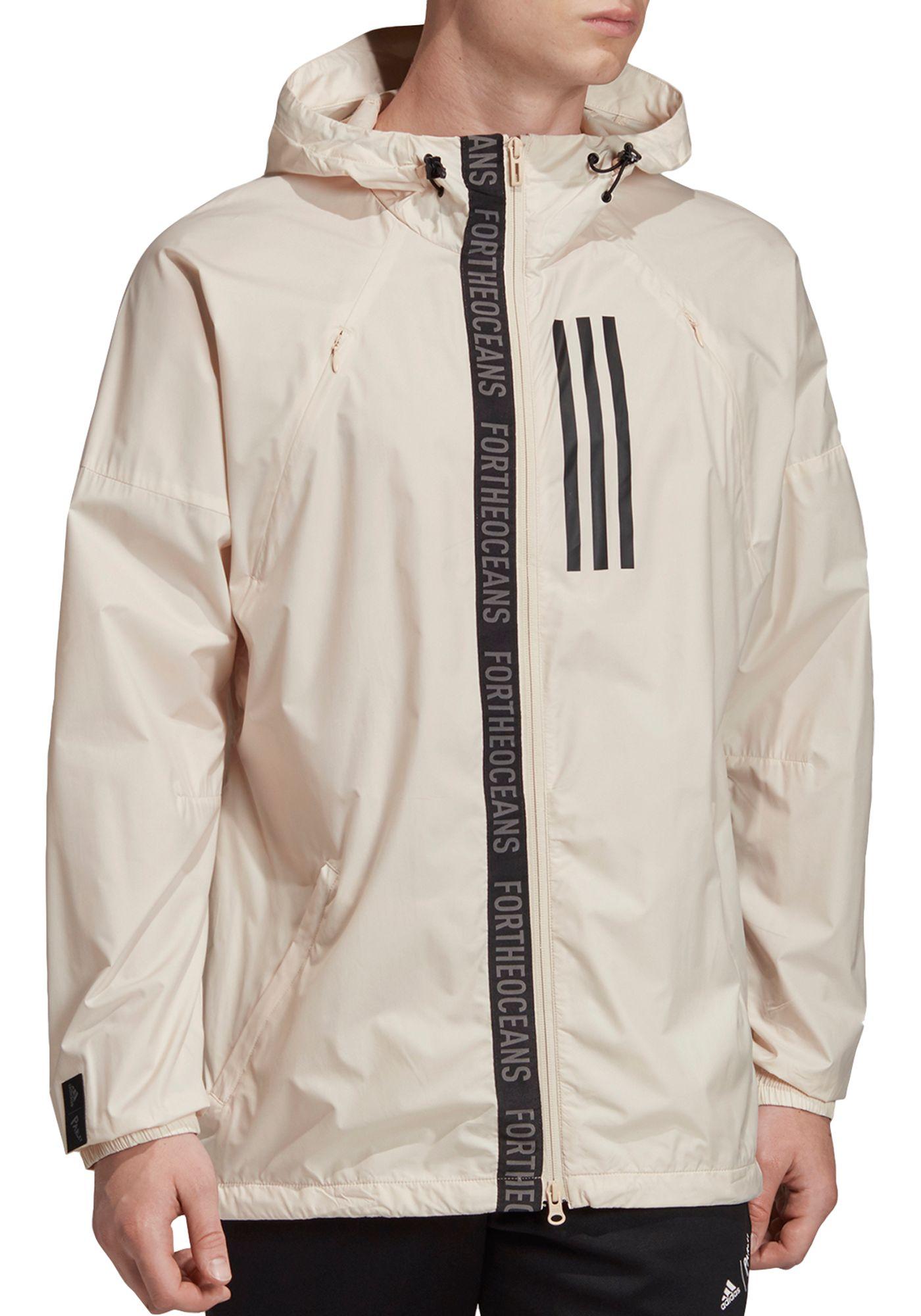 adidas Men's W.N.D Parley Windbreaker Jacket