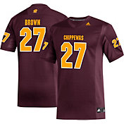 adidas Men's Antonio Brown Central Michigan Chippewas #27 Maroon Replica Football Jersey