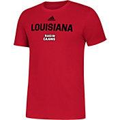 adidas Men's Louisiana-Lafayette Ragin' Cajuns Red Slogan T-Shirt