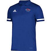 adidas Men's Louisiana Tech Bulldogs Blue Team 19 Sideline Football Polo
