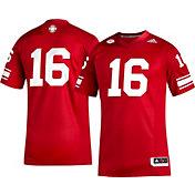 adidas Men's Louisville Cardinals Cardinal Red #16 Alternate Football Jersey