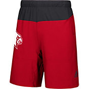 adidas Men's Louisville Cardinals Cardinal Red Sideline Game Mode Woven Shorts