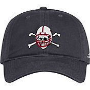 adidas Men's Nebraska Cornhuskers 'Blackshirts' Slouch Adjustable Football Black Hat