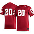 adidas Men's Nebraska Cornhuskers #20 Scarlet Replica Football Jersey