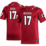 adidas Men's Phillip Rivers NC State Wolfpack #17 Red Replica Football Jersey