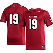 adidas Men's NC State Wolfpack #19 Red Replica Football Jersey