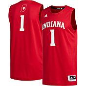 adidas Men's Indiana Hoosiers #1 Crimson Creator 365 Replica Basketball Jersey