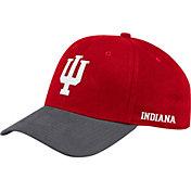 adidas Men's Indiana Hoosiers Crimson Coach Structured Flex Sideline Hat