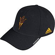 adidas Men's Arizona State Sun Devils Coach Stretch Flex Fitted Black Hat