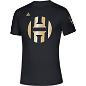 adidas Men's Arizona State Sun Devils James Harden Basketball Black T-Shirt