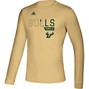 adidas Men's South Florida Bulls Gold Creator Long Sleeve T-Shirt