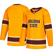 adidas Men's Arizona State Sun Devils Gold Replica Hockey Jersey