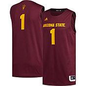 adidas Men's Arizona State Sun Devils #1 Maroon Creator 365 Replica Basketball Jersey