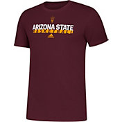 adidas Youth Arizona State Sun Devils Maroon Amplifier Basketball T-Shirt