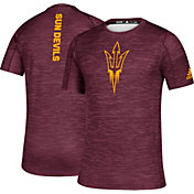 adidas Men's Arizona State Sun Devils Maroon Game Mode Training Sideline T-Shirt