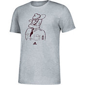 adidas Men's Texas A&M Aggies Grey Vault Logo T-Shirt