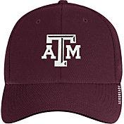 adidas Men's Texas A&M Aggies Maroon Coach Stretch Flex Fitted Hat