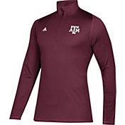 adidas Men's Texas A&M Aggies Maroon Sport Quarter-Zip Shirt