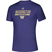 adidas Men's Washington Huskies Purple Tail Sweep Performance T-Shirt