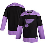 adidas Men's St. Louis Blues Hockey Fights Cancer Authentic Pro Jersey