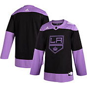 adidas Men's Los Angeles Kings Hockey Fights Cancer Authentic Pro Jersey