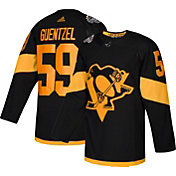 adidas Men's 2019 Stadium Series Pittsburgh Penguins Jake Guentzel #59 Authentic Pro Black Jersey