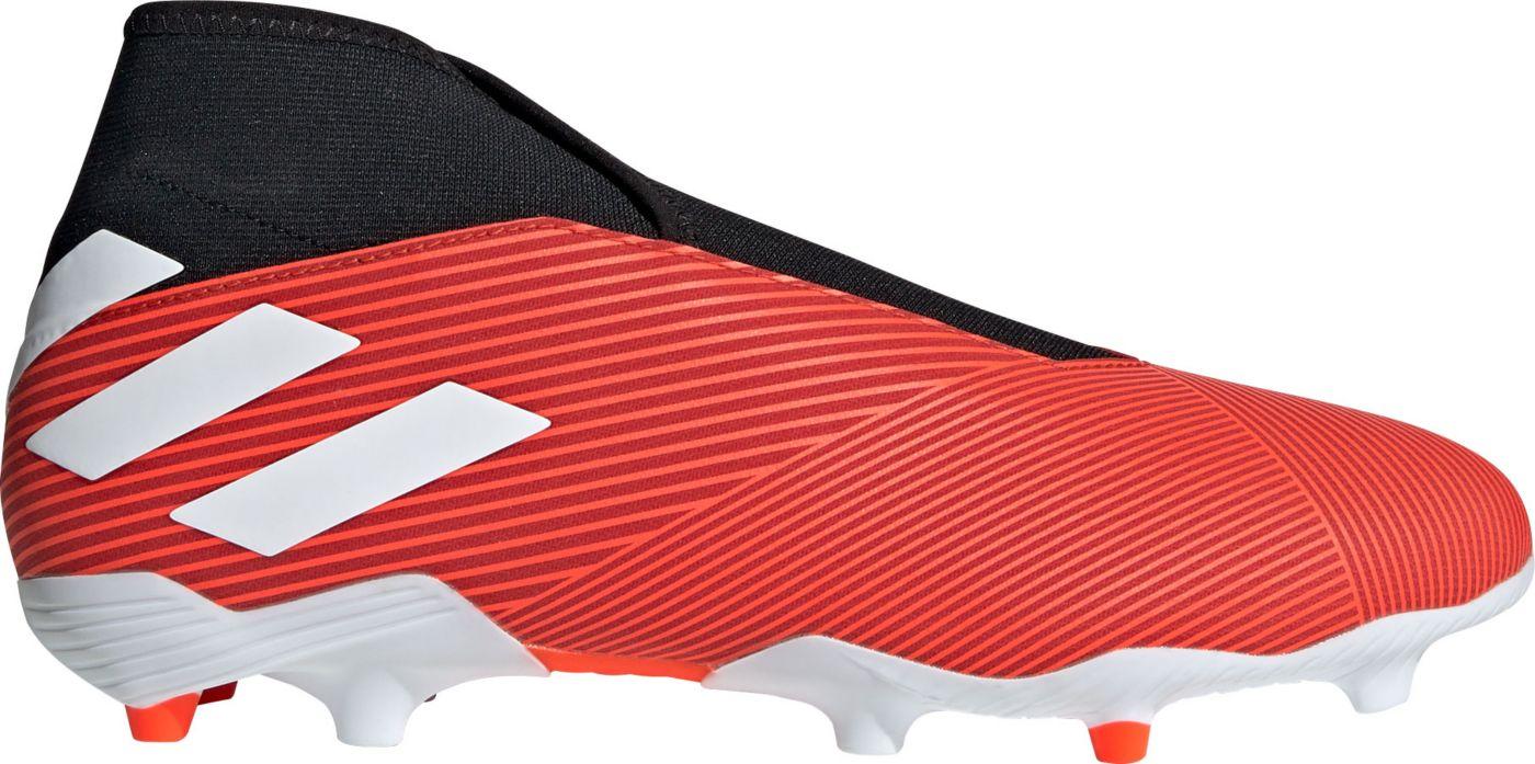 adidas Men's Nemeziz Laceless 19.3 FG Soccer Cleats