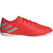46386e004 Product Image · adidas Men s Nemeziz 19.4 Indoor Soccer Shoes. Red Silver