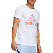 adidas Men's Not Same Logo Graphic Basketball T-Shirt