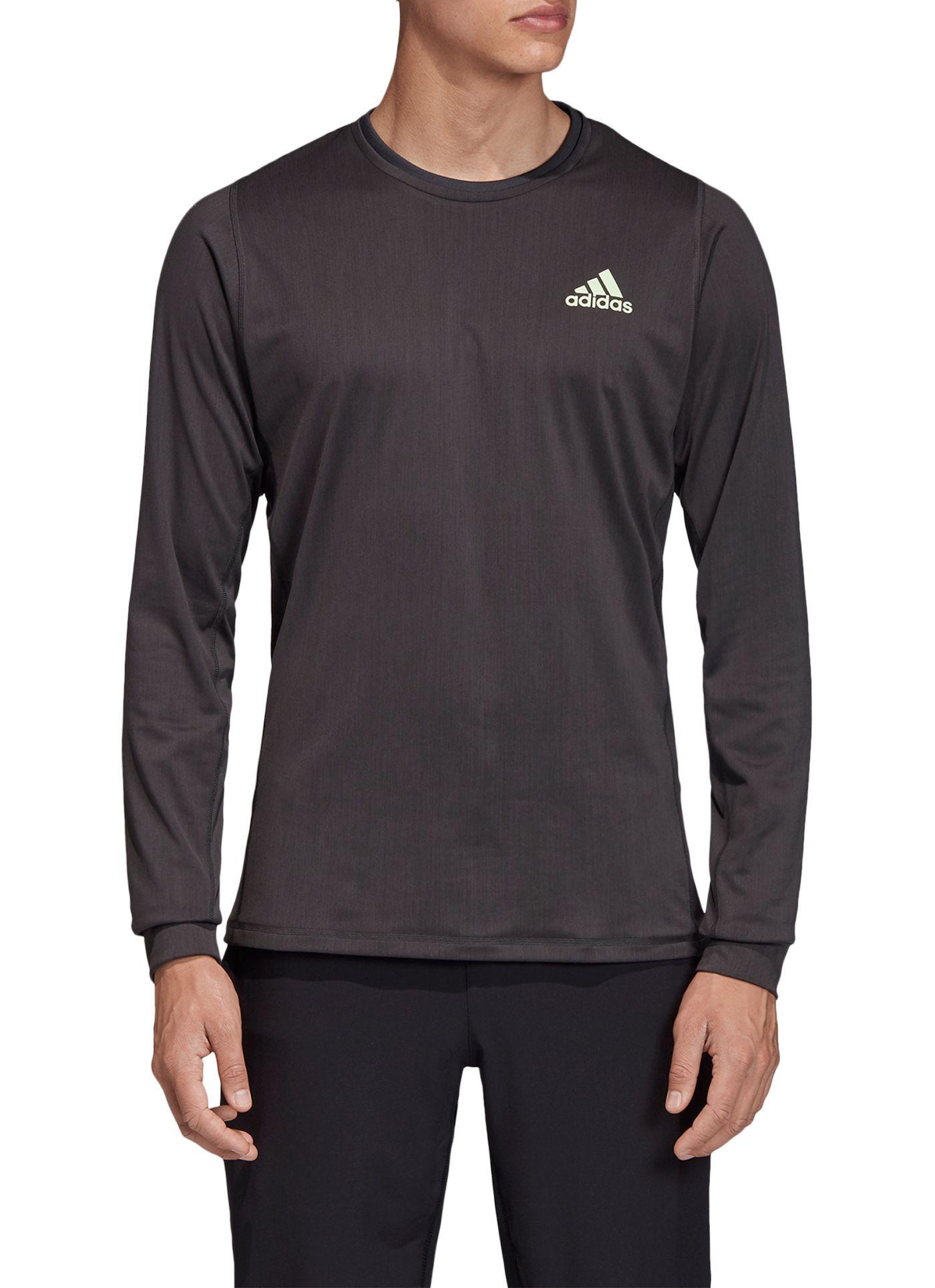 adidas Men's New York Long Sleeve Tennis T-Shirt