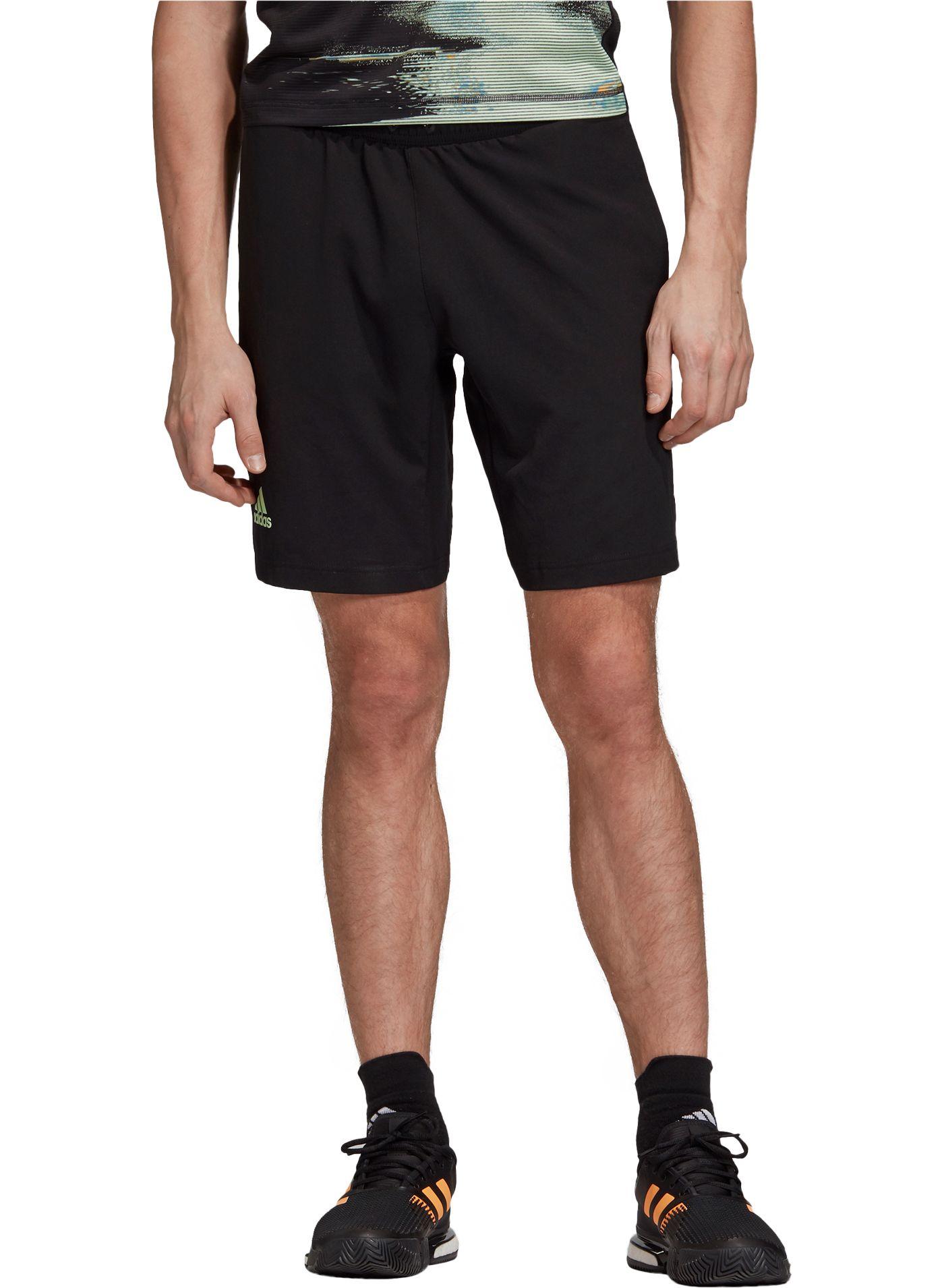 adidas Men's New York Solid Tennis Shorts