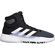 5d0ce66267385 Product Image · adidas Men s Pro Bounce 2019 Basketball Shoes · Black White  ...