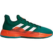 adidas Men's Pro Bounce Madness Low 2019 Miami Hurricanes Basketball Shoes