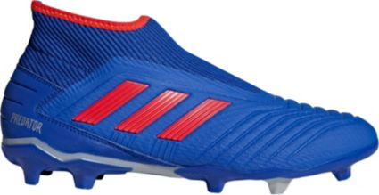c8bf3ca9837 adidas Men s Predator 19.3 Laceless FG Soccer Cleats