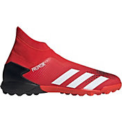adidas Men's Predator 20.3 Turf Laceless Soccer Cleats