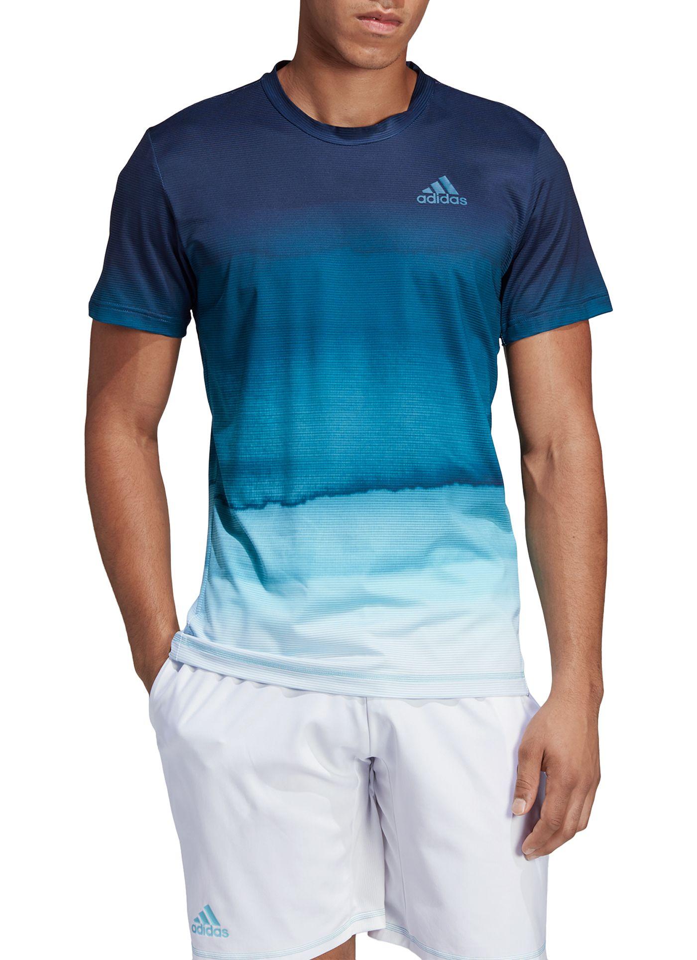 adidas Men's Parley Printed Tennis T-Shirt