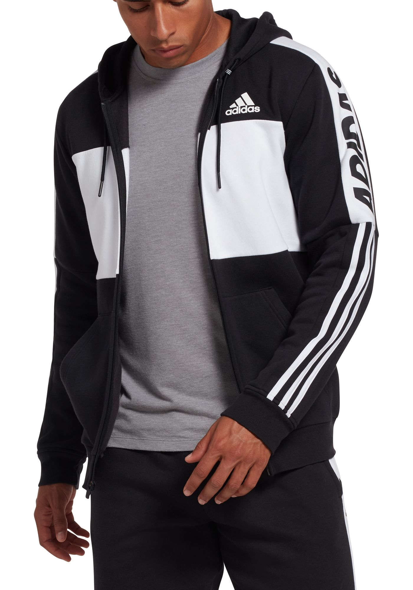 adidas Men's Post Game Full-Zip Hoodie