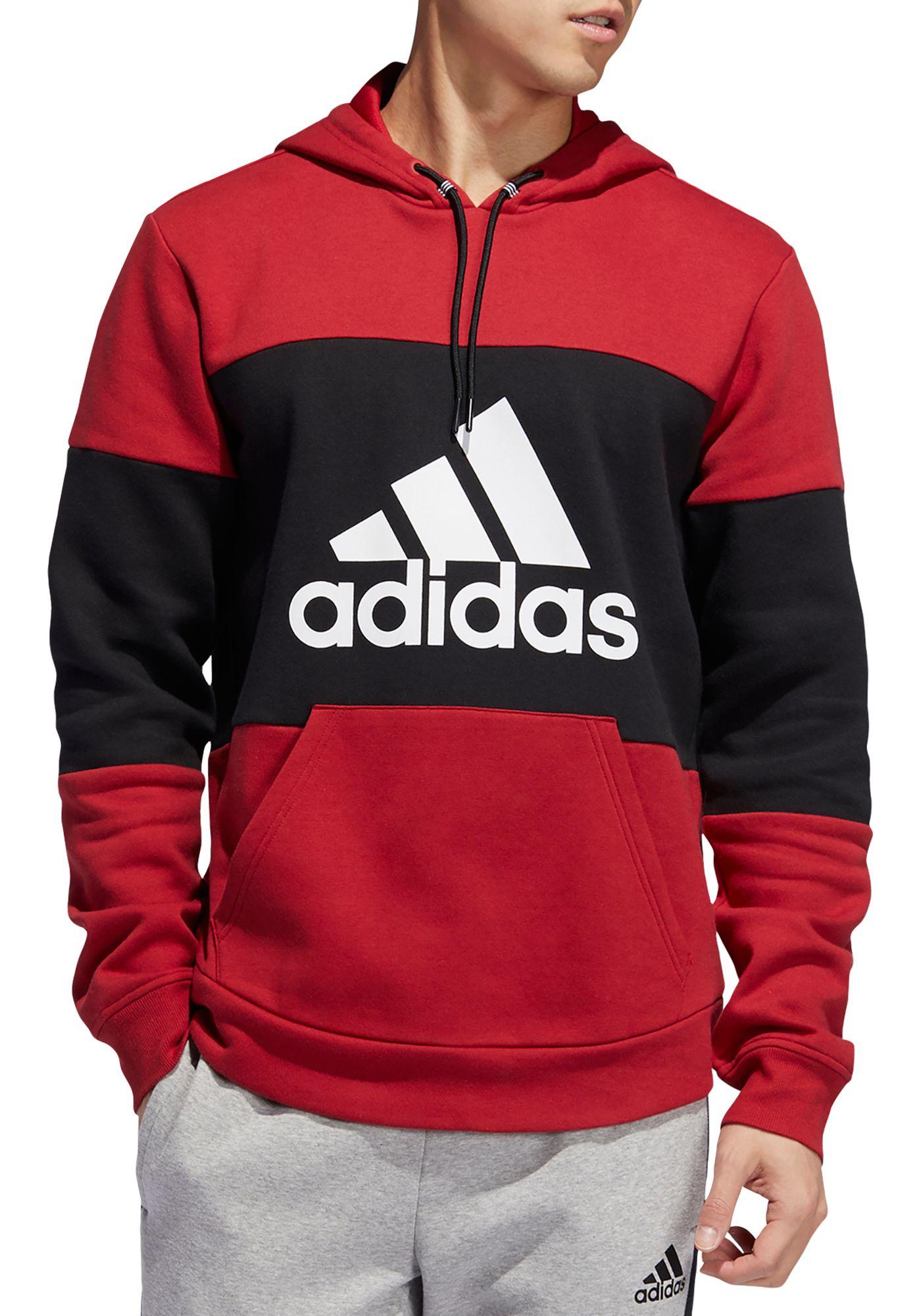 adidas Men's Post Game Fleece Badge Of Sport Graphic Hoodie