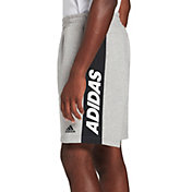 adidas Men's Post Game Fleece Shorts in MGH/Black
