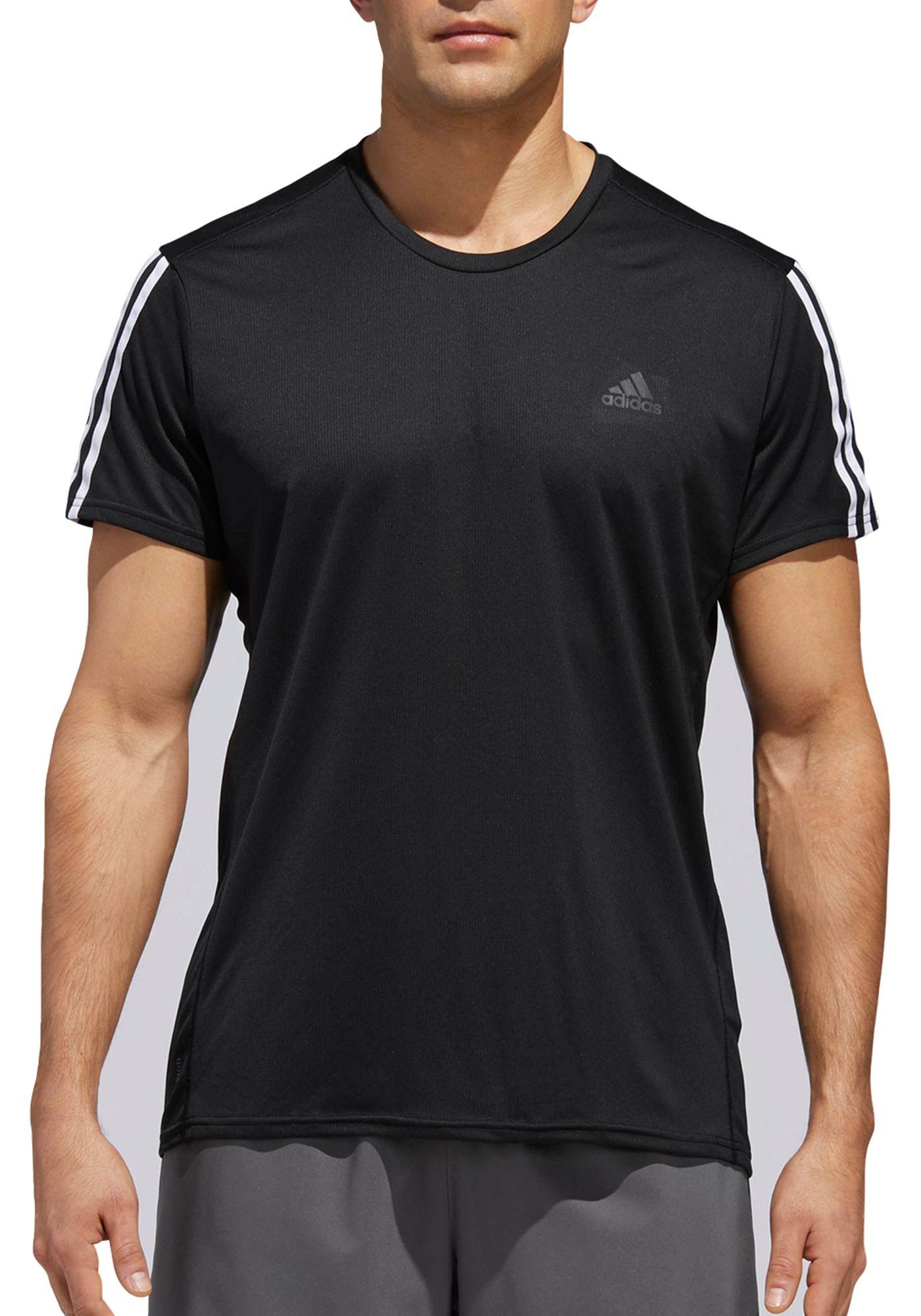 adidas Men's 3-Stripes Running T-Shirt