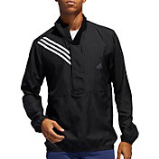Adidas Men's Run It Anorak 3-Stripes ½ Zip Jacket