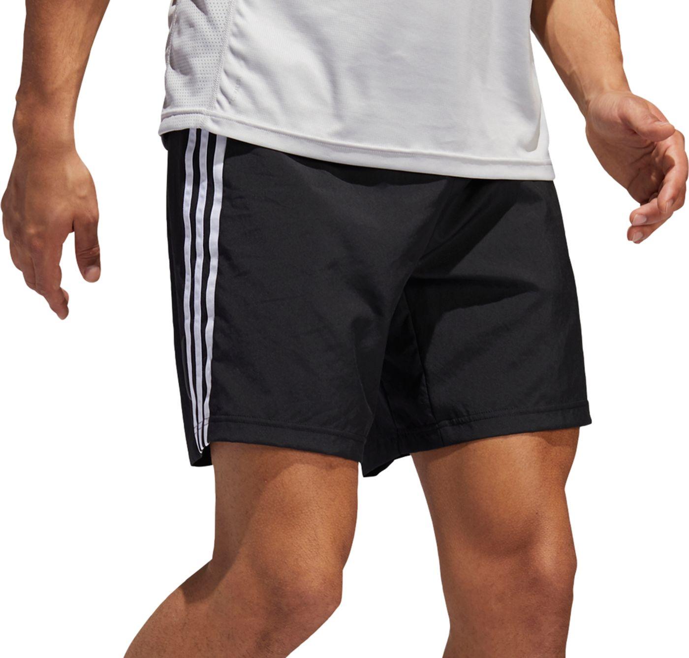 adidas Men's Run It 3-Stripes 9'' Shorts