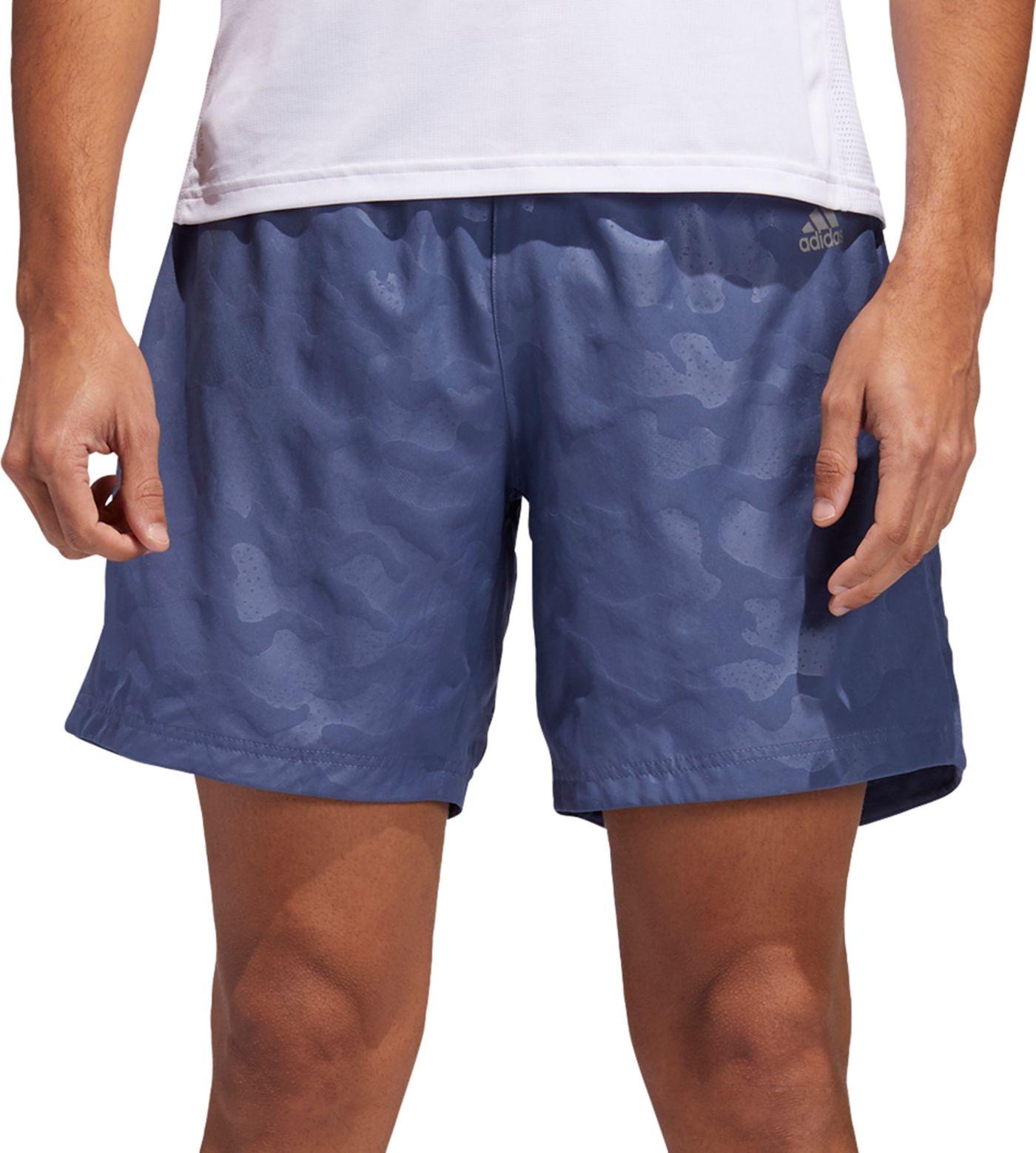 adidas Men's Run It Urban Camo 7'' Shorts