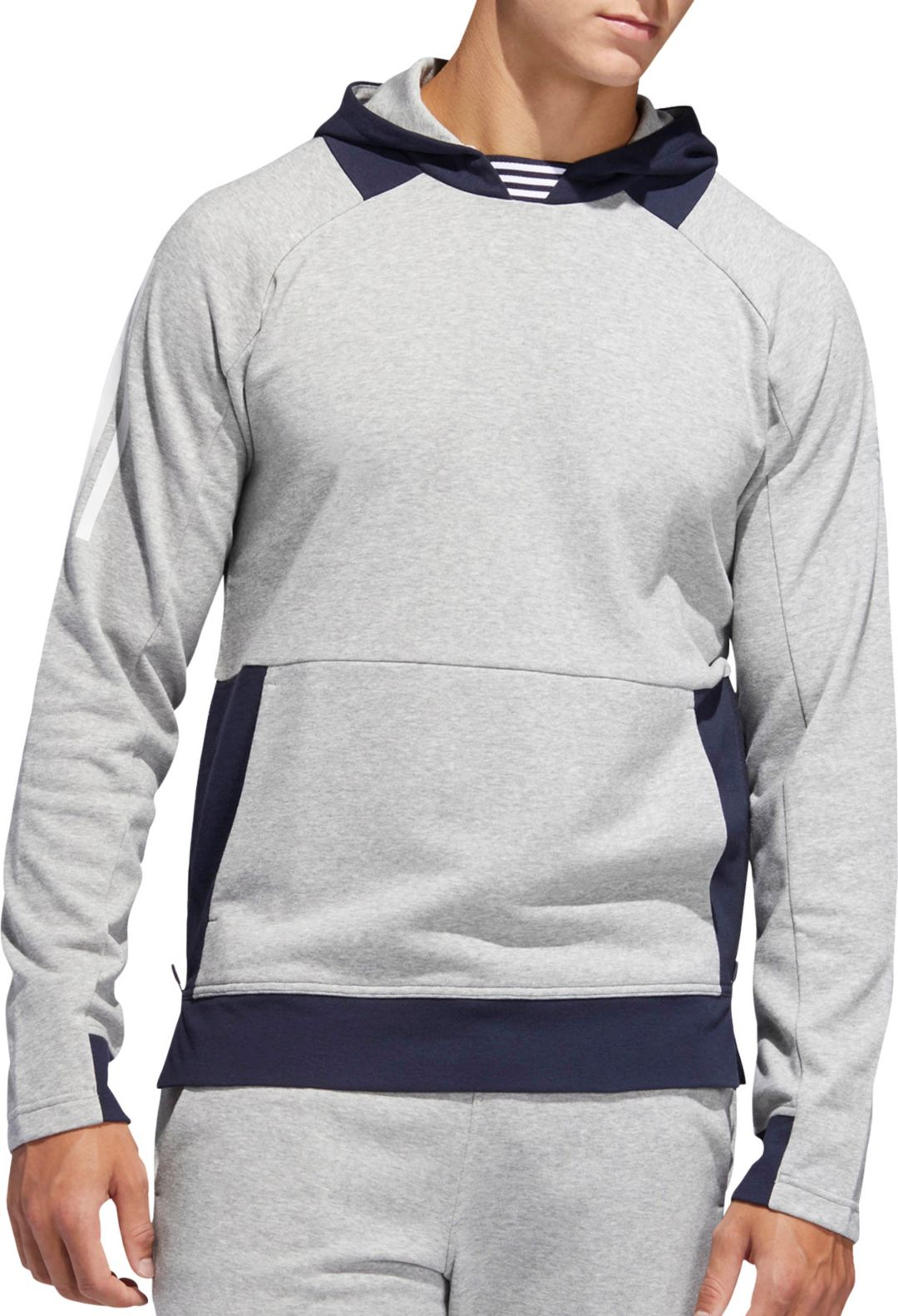 low cost e69ed 4ce91 adidas Men's Street 2 Sport Pullover Hoodie