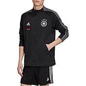 adidas Men's Germany Anthem Black Full-Zip Jacket