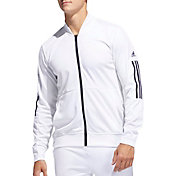 adidas Men's Side Snap Full-Zip Track Jacket